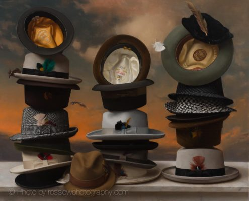 Artwork Photography of 21 Hats-Steve Levin