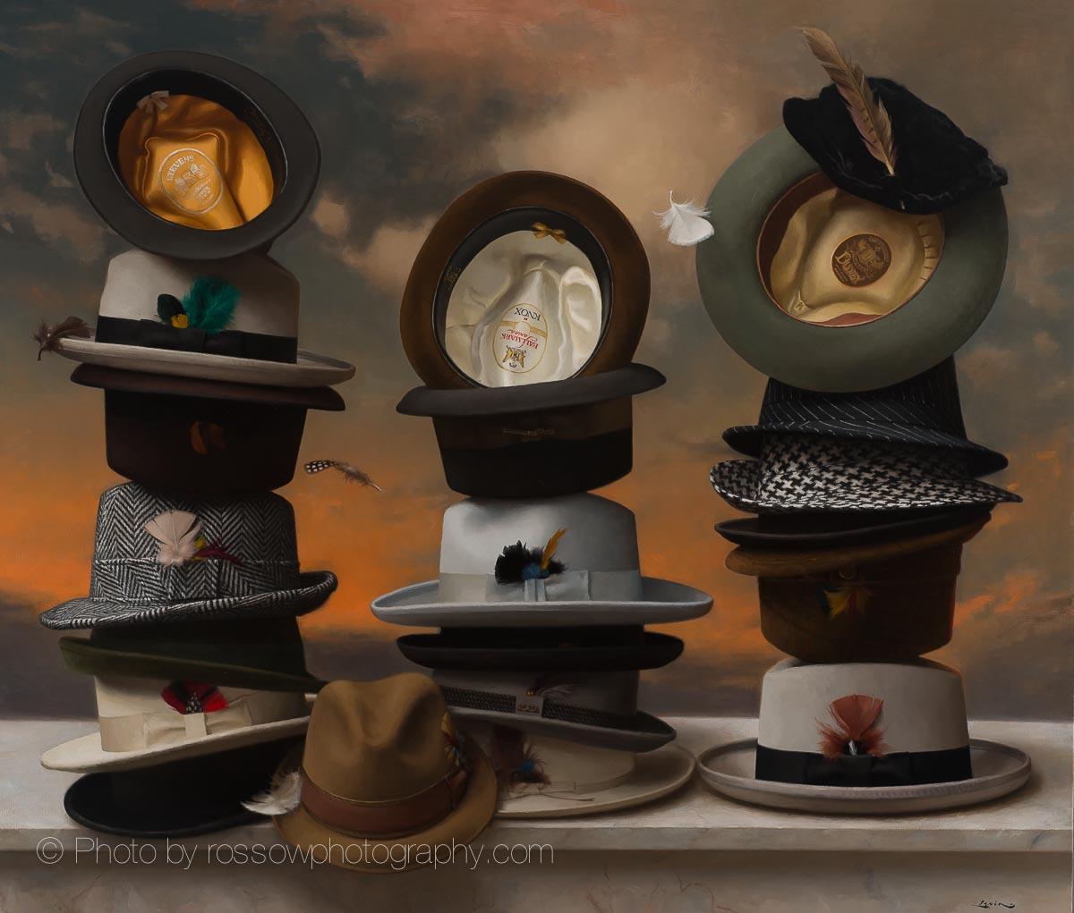 Artwork Photography of 21 Hats-Steve Levin