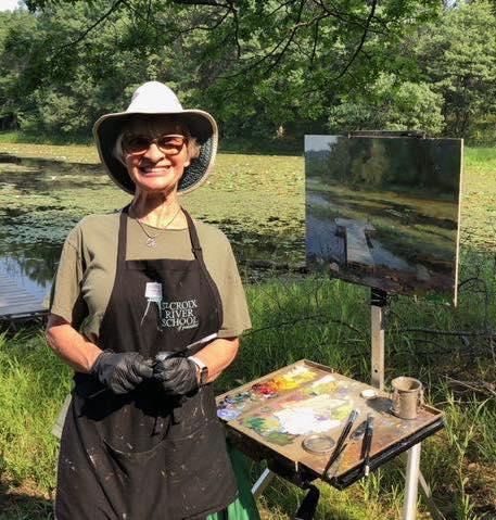 Mary Pettis Plein Artist, Painter