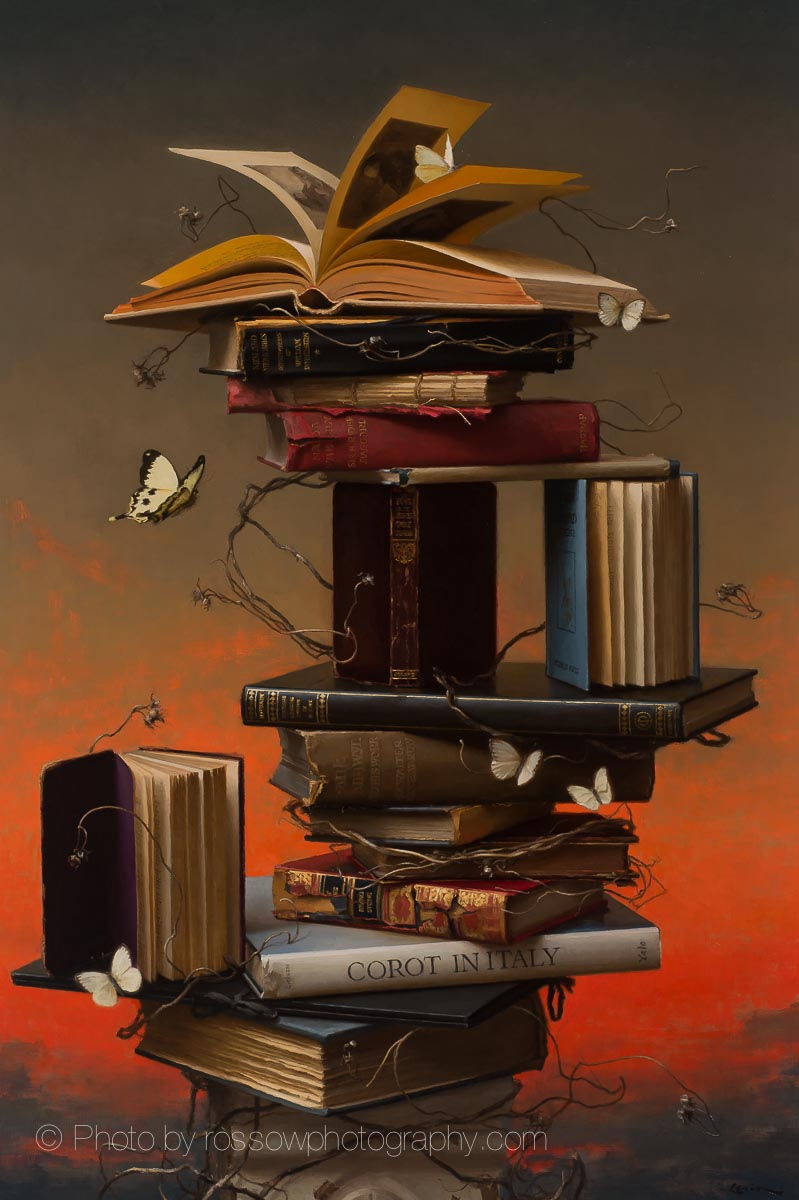 Artwork Photography of Books and Butterflies 4