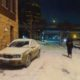 Artwork Photography of Cold Walk Through the Alley