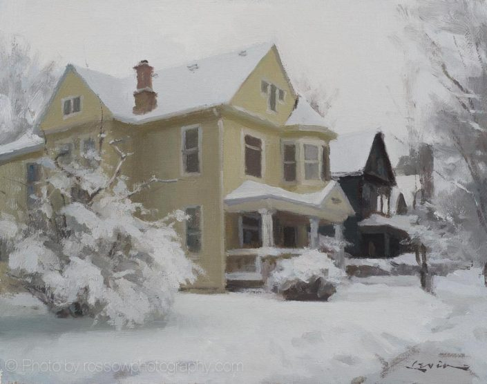Artwork Photography of Winter House