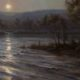 Artwork Photography of St. Croix River Nocturne by Mary Pettis