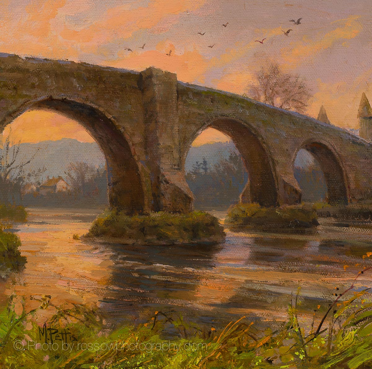 Artwork Photography of Stirling Bridge by Mary Pettis