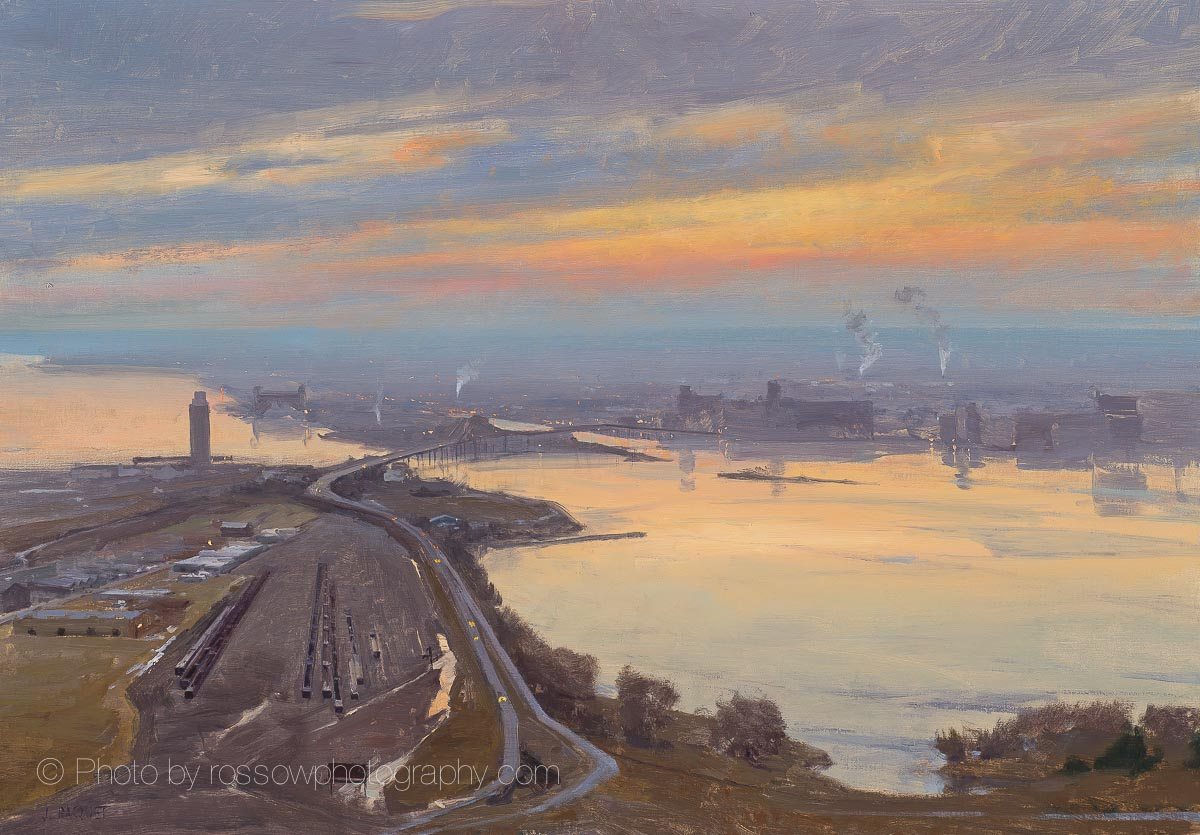 Morning Impression Duluth 28x40-Joe Paquet