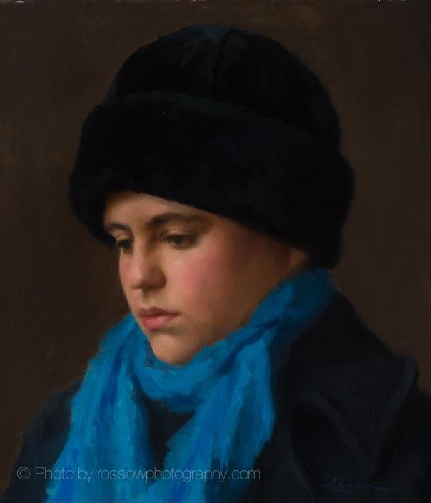 The Russian Girl Portrait