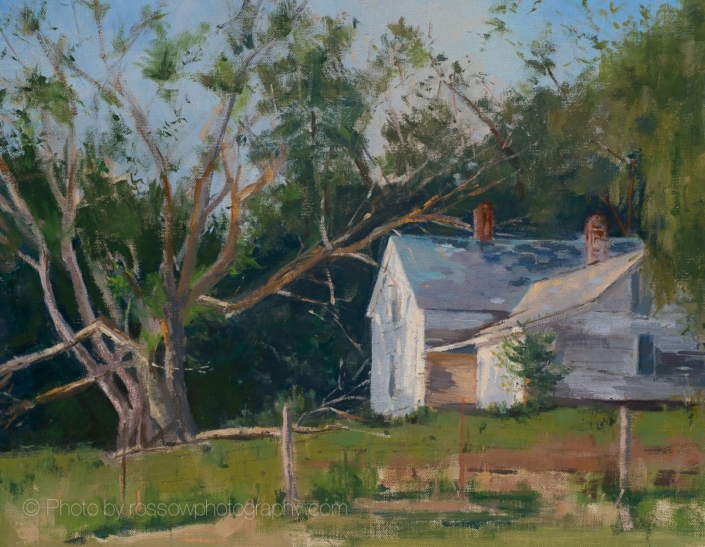Wisconsin Farmhouse 11x14