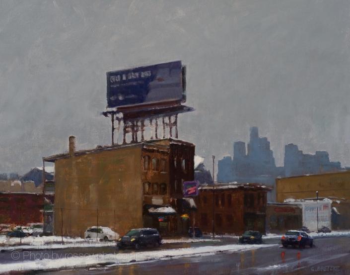 City Billboard 16x20