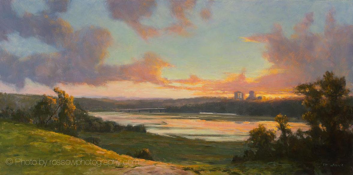 Minnesota River Valley Panorama
