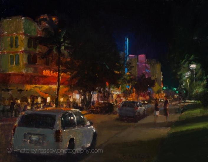South Beach Illumination 11x14