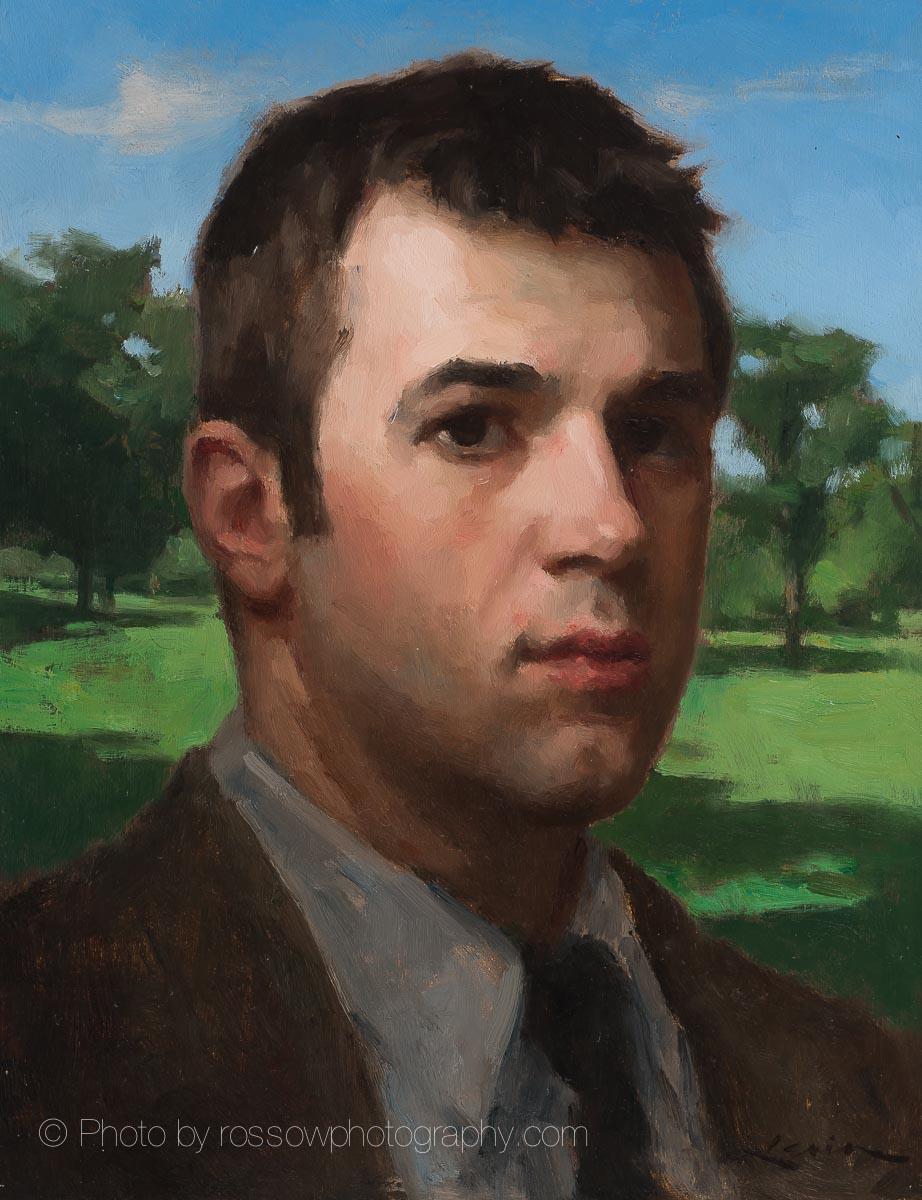 Man in Half Light by Steve Levin