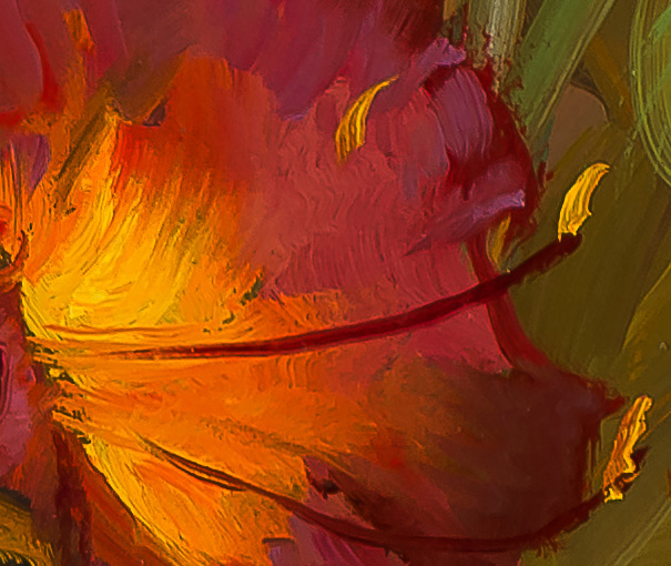 My-Summer-Lilies-detail
