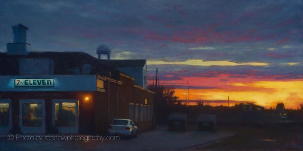 7-Eleven Sunset 16x32