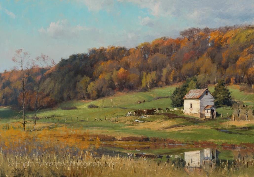 Autumn-Sun-Menomonie-Wisconsin -28x40-200101-Joe Paquet