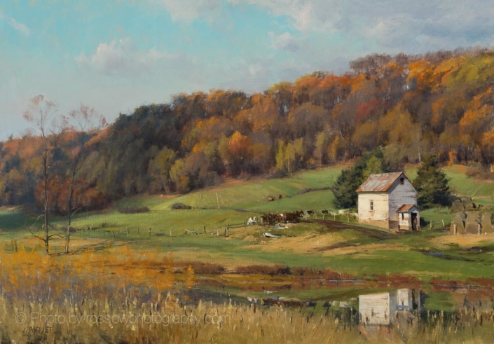 Autumn-Sun-Menomonie-Wisconsin -28x40-200101-Joe Paquet