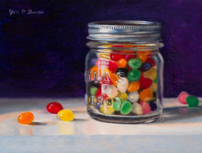 Candy Jar by Jon Burns