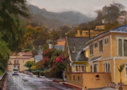 Rainy Day, Avalon 8x12-Joe Paquet