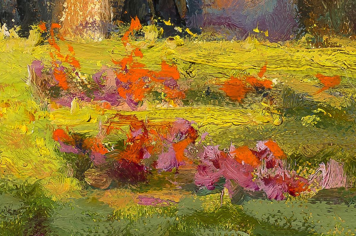 Van Gogh's Cloister detail Mary Pettis