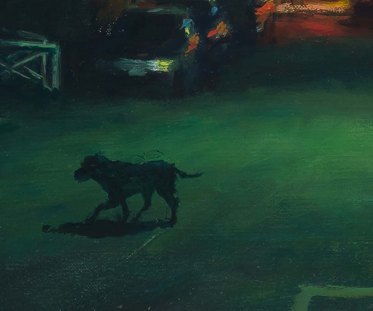 When Dogs Run Free by Carl Bretzke detail