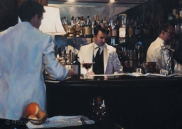 Duke's Bar, London by Paul Oxborough