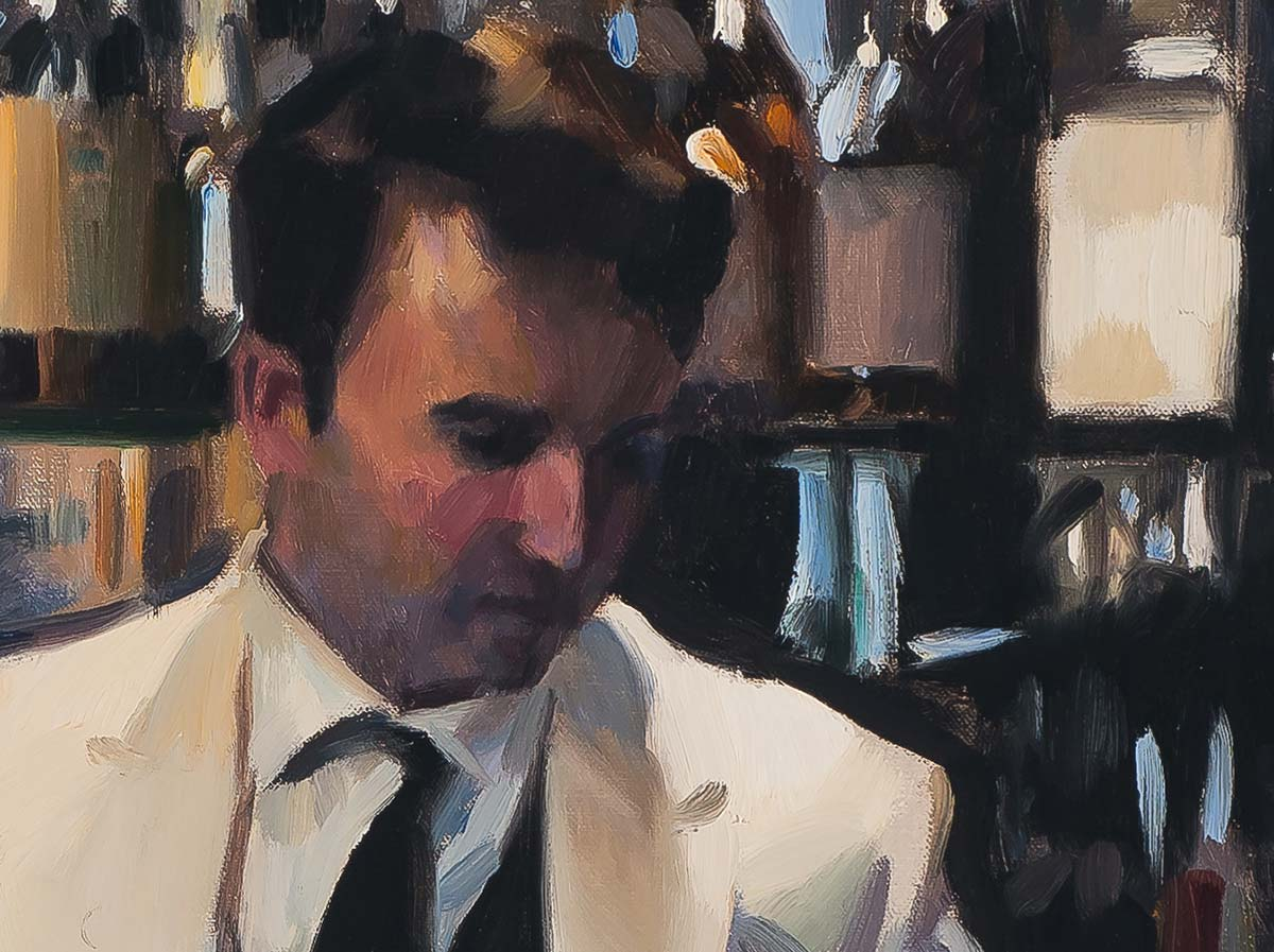 Duke's Bar, London by Paul Oxborough - detail