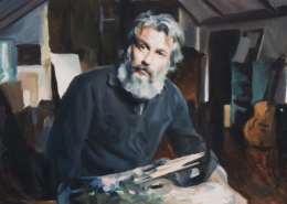 Artist Self Portrait Paul Oxborough