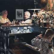 The Regulars painting by Paul Oxborough
