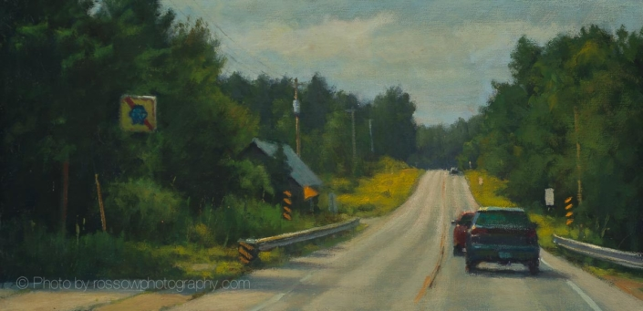 Painting Photography 57 to Door County painting by Carl Bretzke