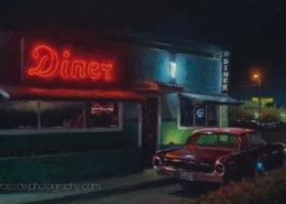 Diner After Hours-by-Carl Bretzke