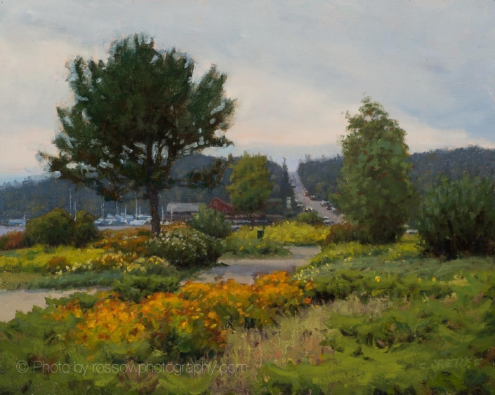 Bayside Park (Grand Marais Plein Air 2019) - by -Carl Bretzke