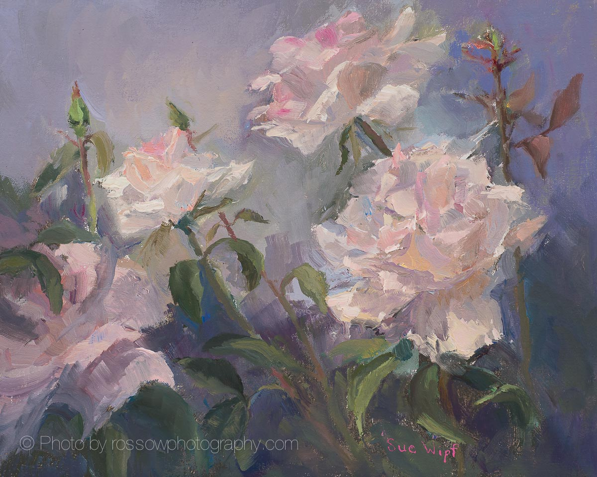 Pink Promise-Painting by Sue Wipf