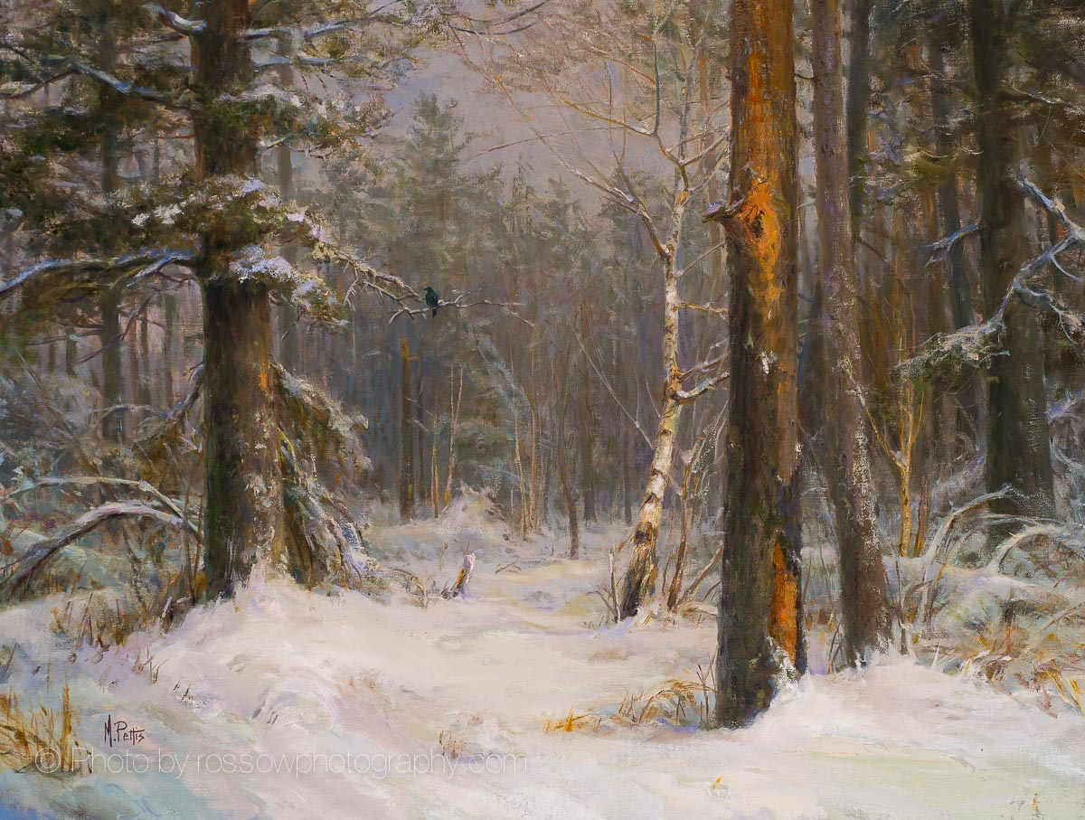 Superior Forest-painting by Mary Pettis