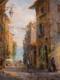 Dancing Village Light 12x9-Mary Pettis